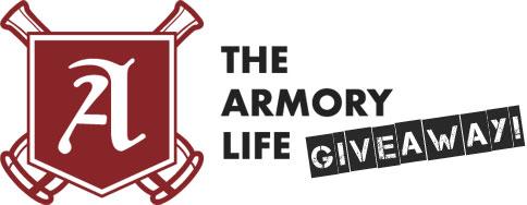 Armory Life Giveaway logo