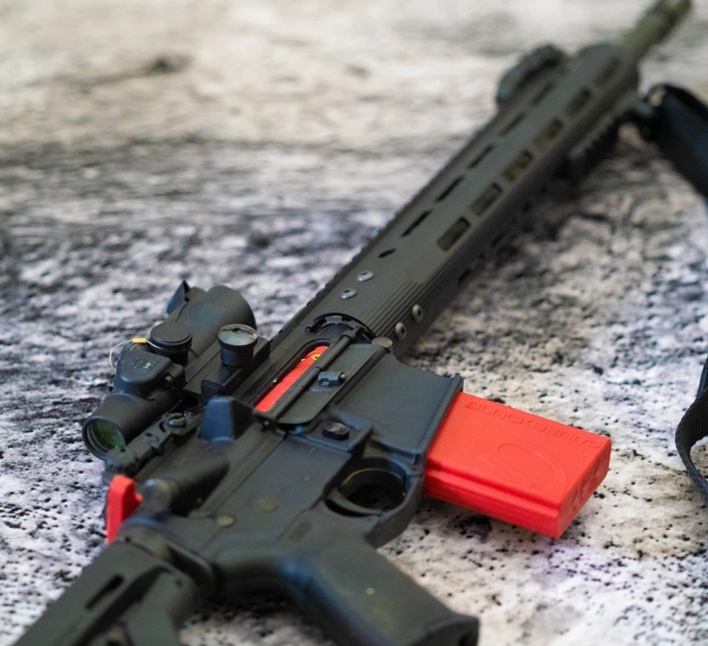 Mantis Blackbeard: the auto-resetting trigger system for AR-15