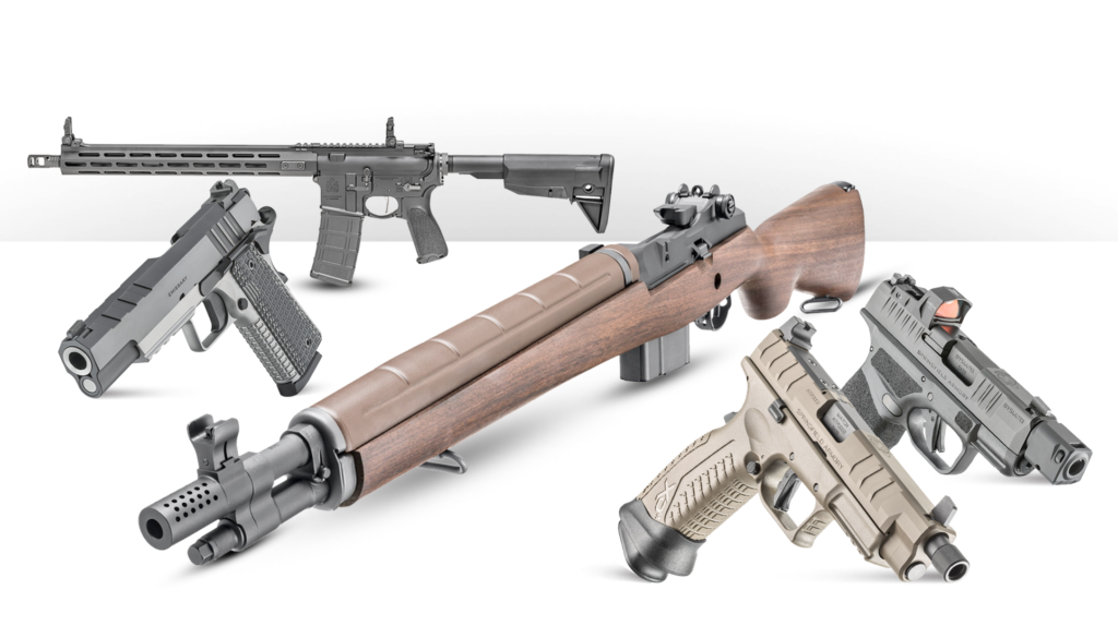 Springfield Armory Winner's Choice of Firearm