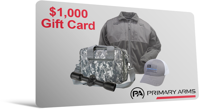Primary Arms $1,000 Gift Card